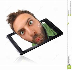 Wow Expression With Tablet Royalty Free Stock Images ...