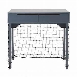 Cage Foot Enfant : bureau enfant 2 tiroirs bleu et cage de foot maisons du monde ~ Teatrodelosmanantiales.com Idées de Décoration