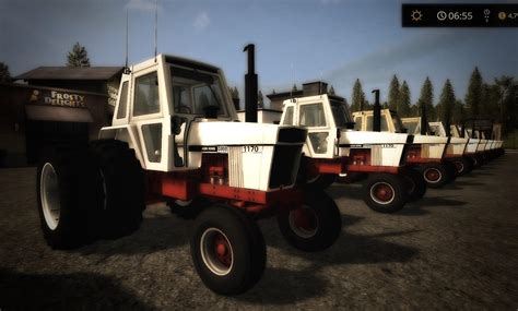 fs  iron case  series small tractor mod