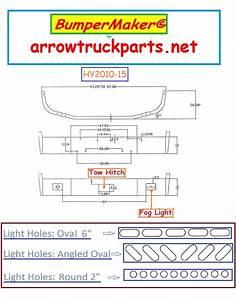 Bumpermaker  Peterbilt 385 120 U0026quot  Bbc Bumper