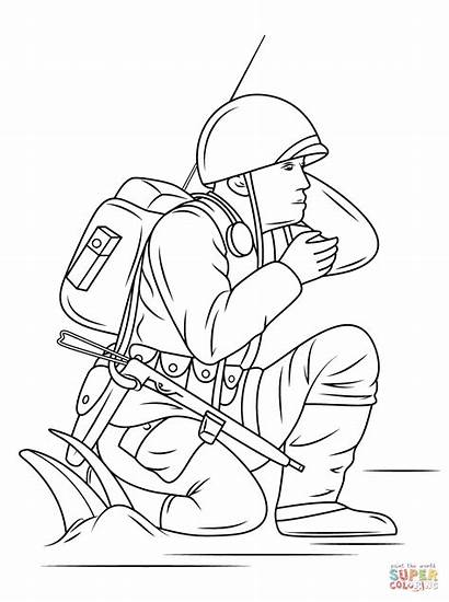 Coloring Navajo Pages Code Talkers Army Blanket