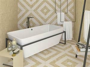 Panneau Hydrofuge Salle De Bain : carrelage salle de bain osb ~ Dailycaller-alerts.com Idées de Décoration