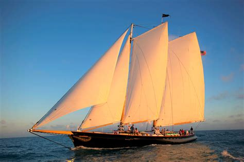 Key West Sailboat by Classic Harbor Line In Key West Florida Sailboat Ride
