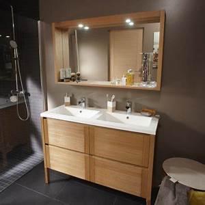 pose d39un meuble de salle de bains double vasque jusqu39a With meuble salle de bain double vasque 130 cm