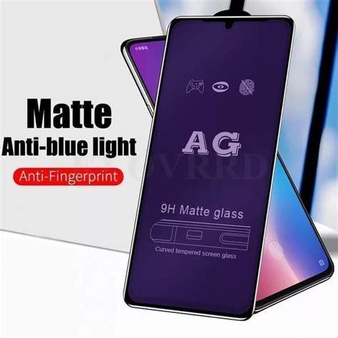 full covered matte anti blue tempered glass screen