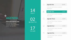 simple agenda template  powerpoint