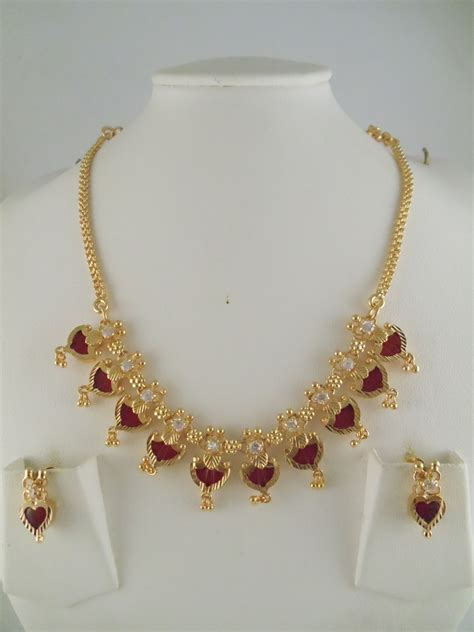 gm gold jewelry necklace sets