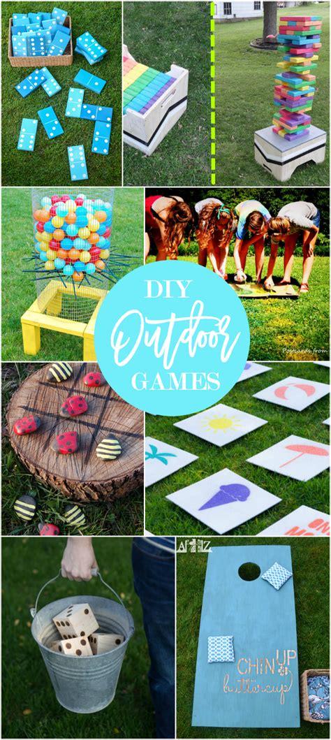 17 Diy Games For Outdoor Family Fun