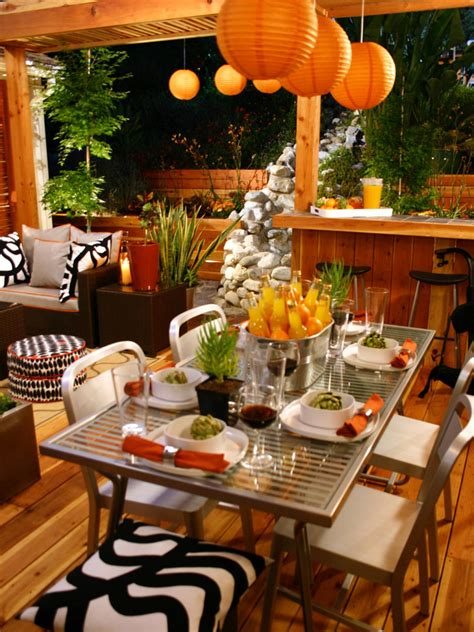 13 Partyready Outdoor Spaces  Entertaining Ideas & Party