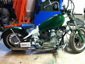 82 Virago Bobber Build