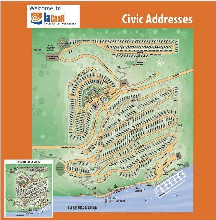 La Casa Cottage Resort Map Of La Casa Picture Of La Casa Cottage Resort South