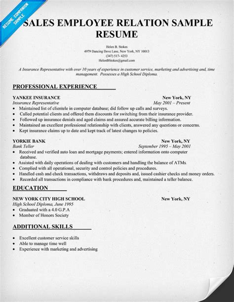 insurance claims representative resume trend home design