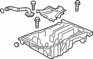 Buick Verano Engine Oil Pan  Bearings  Liter