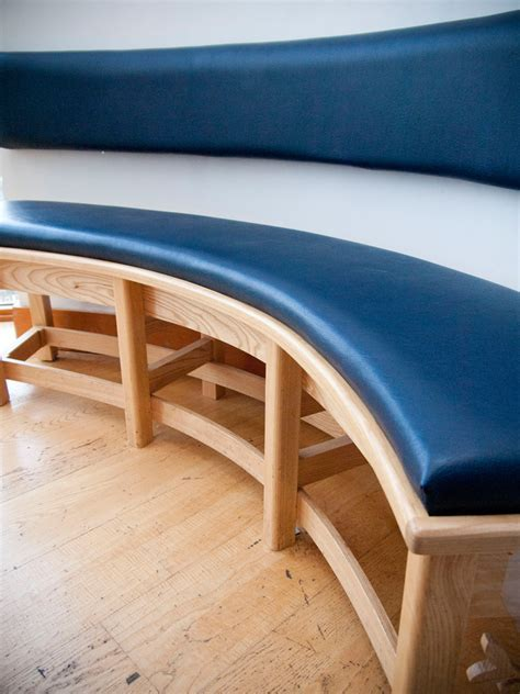 Furniture: Charming Pictures Of Vinyl Bench Cushions For