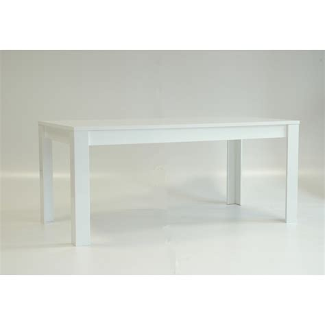table de salle a manger blanc laque table 224 manger design laqu 233 blanc