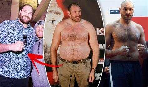 Tyson Fury Weight