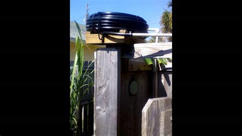 Solar Shower - simple diy outdoor solar shower