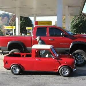 Classic Mini Cooper Pickup Truck