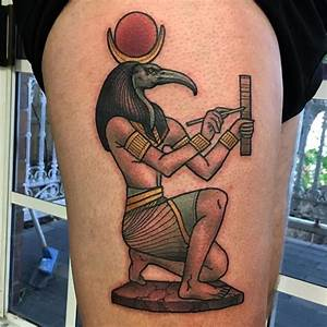 Tattoos Honoring Thoth, the Most Creative Egyptian God ...
