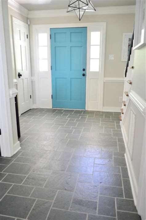 Best 25  Black slate floor ideas on Pinterest   Black