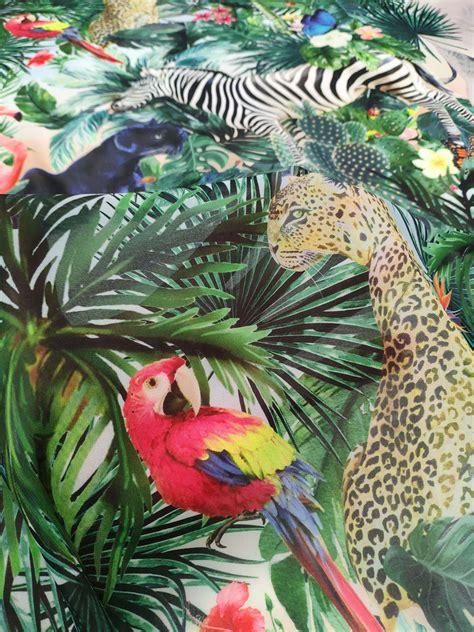 Animal Print Chiffon Fabric 50021 Design My Fabric