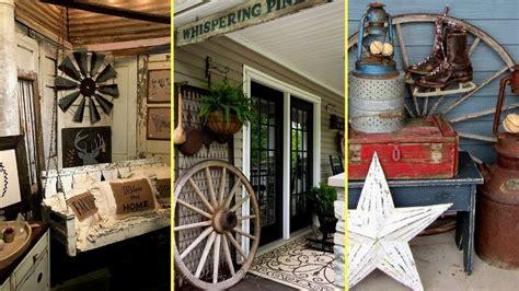 diy rustic farmhouse style porch decor ideas home decor