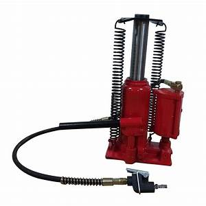 Air Hydraulic Bottle Jack 12 Ton Manual 24000lb Heavy Duty