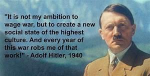 Adolf Hitler & ... Social Darwinism Hitler Quotes