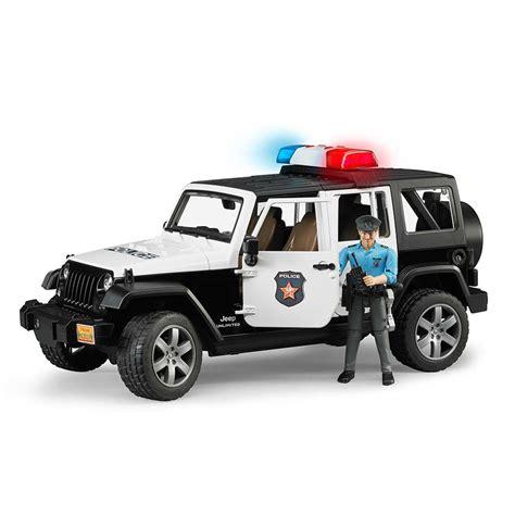 police jeep wrangler 1 16th jeep wrangler rubicon police with policeman and