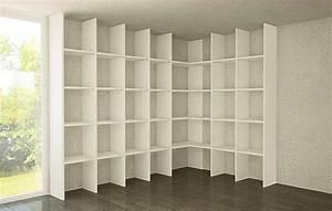 Bücherregal über Eck : b cherregal ecke m bel design idee f r sie ~ Michelbontemps.com Haus und Dekorationen