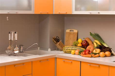 cuisine orange le top 5 des couleurs dans la cuisine trouver des idées
