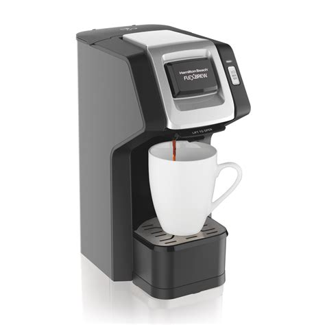 This can brew regular drip coffee or special drinks like single serve coffee makers not only eliminate this waste, making them ideal for personal use, but but you can also find single serve coffee makers that craft a variety of drinks, pour multiple cup sizes. Amazon.com: Hamilton Beach FlexBrew Single Serve Coffee Maker, Compatible with K-Cup Pods and ...