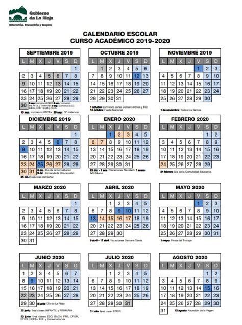calendario escolar en la rioja
