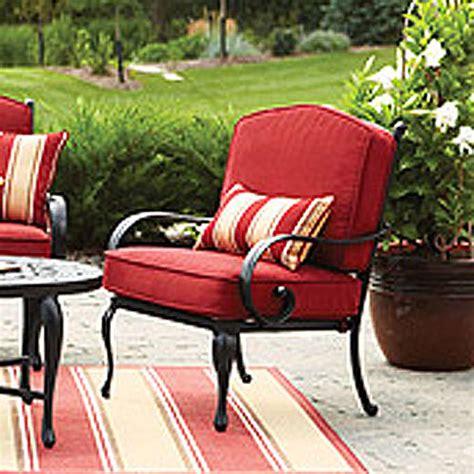 fair glen conversation set replacement cushion garden winds