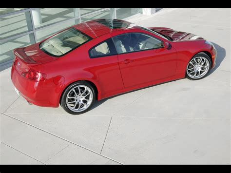 2006 Infiniti G35 Sport Coupe Rear And Side 1920x1440