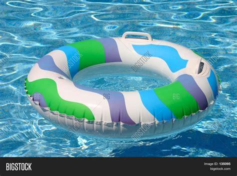 Swimming Pool Inner Tube Toy Image & Photo