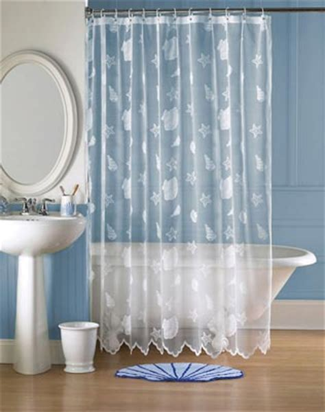 seashell shower curtain seashell shower curtains curtains blinds