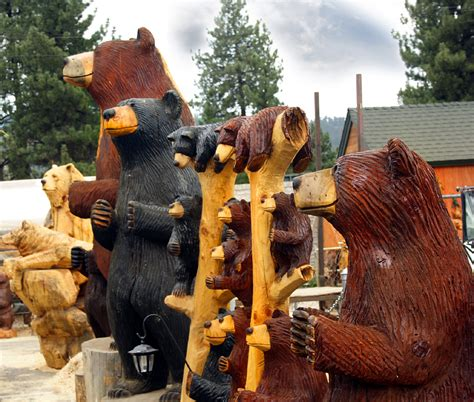 Popular Bear Carvings… — The Tim Wood Group