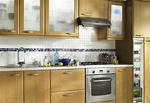 meuble cuisine bois massif trendy meuble cuisine bois With modele placard de cuisine en bois