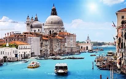 Italy Venice Water Landscape Canal Building Desktop