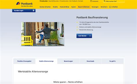 postbank baufinanzierung erfahrungen postbank baufinanzierung erfahrungen im test
