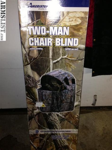 armslist for sale ameristep 2 chair blind
