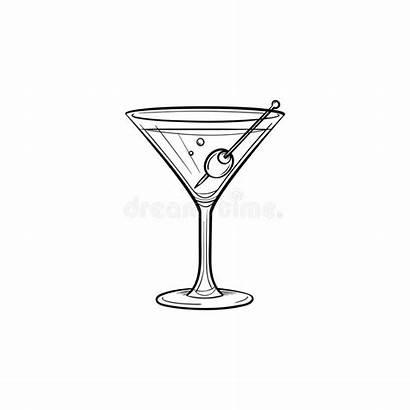 Liquor Icon Drawn Sketch Burgdorf Gina Marie