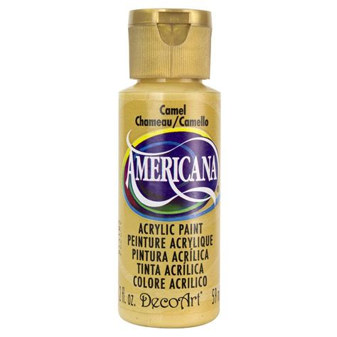 decoart americana 2 oz camel acrylic paint da191 3 the