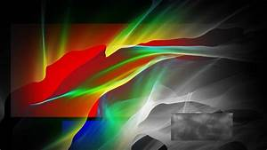 Digital, Art, Abstract, Geometry, Colorful, Rectangle, Wavy