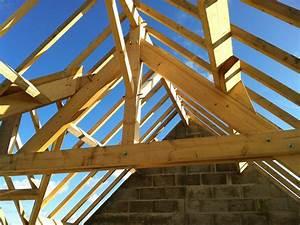 Ferme De Charpente : charpente maison structure et mode d 39 emploi ~ Melissatoandfro.com Idées de Décoration