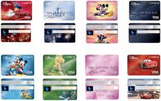 visa card design disney visa rewards card