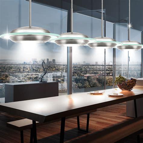 led   watt decken haenge lampe nickel matt glas