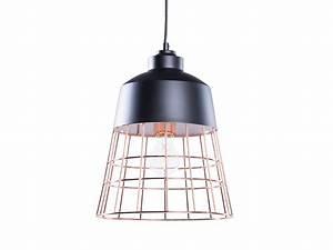 Deckenlampe Schwarz Kupfer : lampe schwarz deckenlampe deckenleuchte h ngeleuchte ~ Lateststills.com Haus und Dekorationen