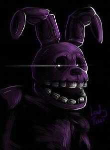 FNAF - Shadow Bonnie by LadyFiszi on DeviantArt